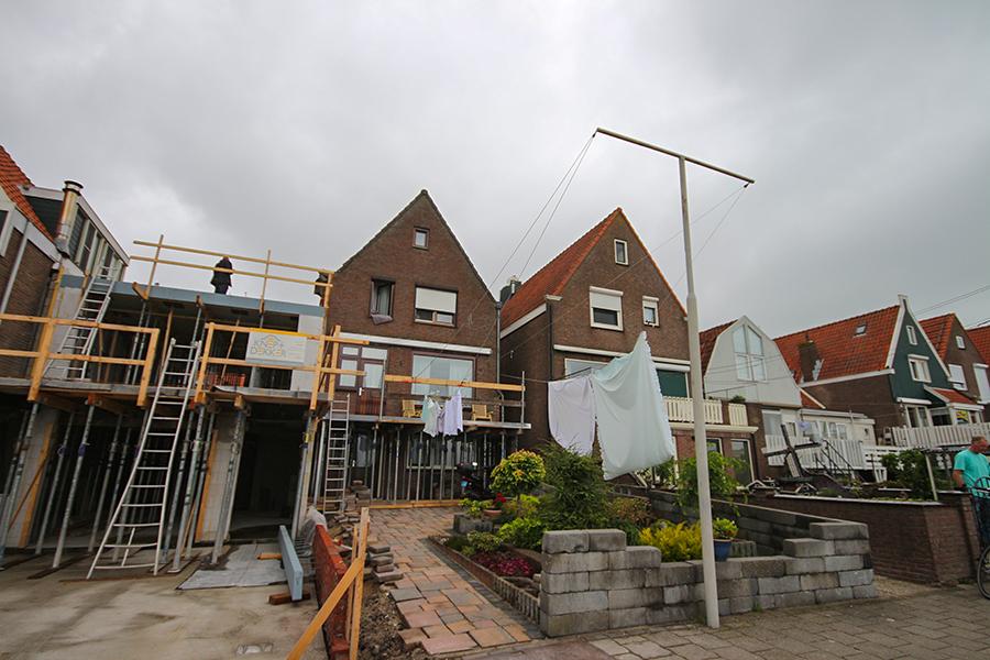 Çamaşır asma direği - Volendam